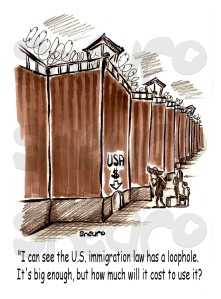 I can see the U.S. Immigration Law has a loophole. It's big enough, but much will it cost to use it?