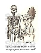 Bernice Meets Skeleton - WM