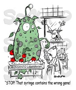 Tomatoe Monster at Monsanto.